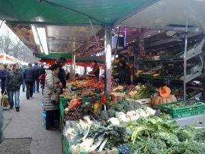 Plainplais Vegetable Market Geneva